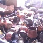 Ανακύκλωση χαλκός σκραπ καζάνια αντικείμενα τιμές