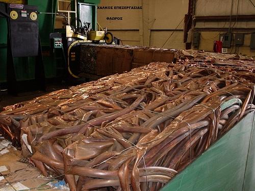 Εμπόριο παλαιών μετάλλων σιδήρον σκραπ τιμές χαλκος
