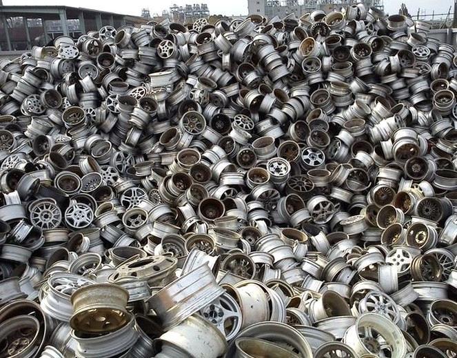 Ανακύκλωση ζάντες αλουμινίου σκληρό σκραπ
