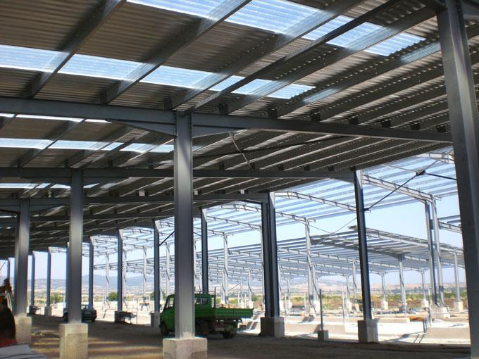 αποξήλωση κτιρίον εργοστάσιων μεταλλικών-κατασκευών floros scrap